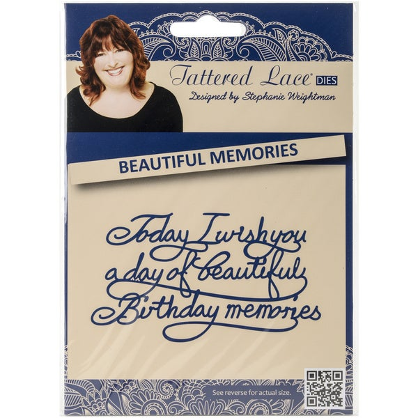 Tattered Lace Metal Die-Beautiful Memories