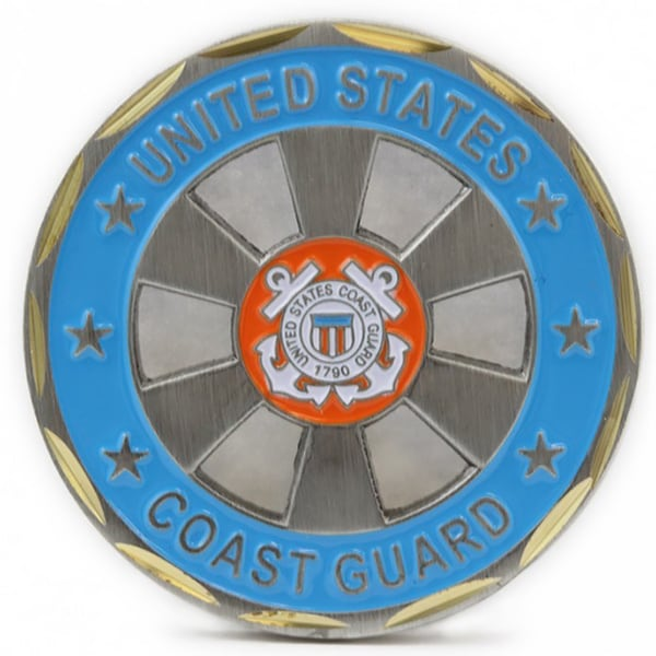 US Coast Guard Coin