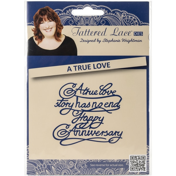 Tattered Lace Metal Die-A True Love