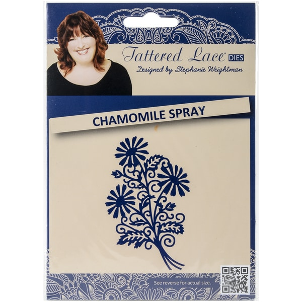 Tattered Lace Metal Die-Chamomile Spray