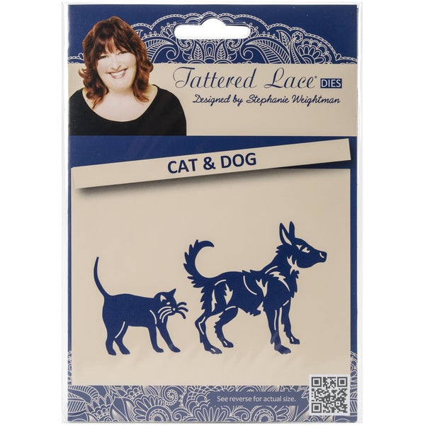 Tattered Lace Metal Die-Cats & Dogs
