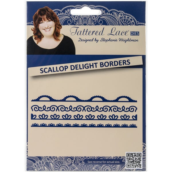 Tattered Lace Metal Die-Scallop Delight Borders