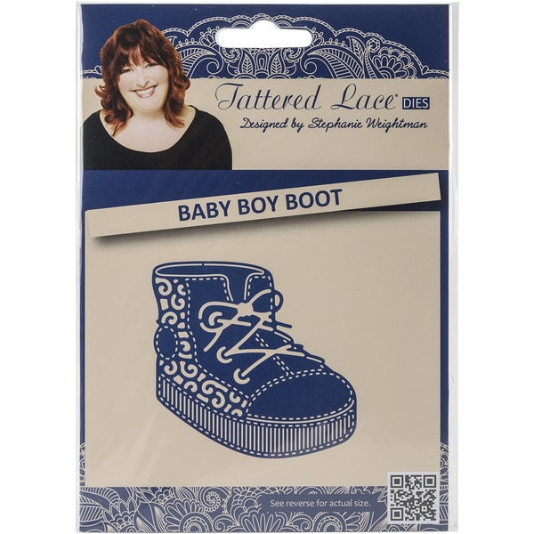 Tattered Lace Metal Die-Baby Boy Boot