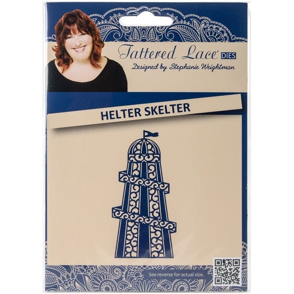 Tattered Lace Metal Die-Helter Skelter