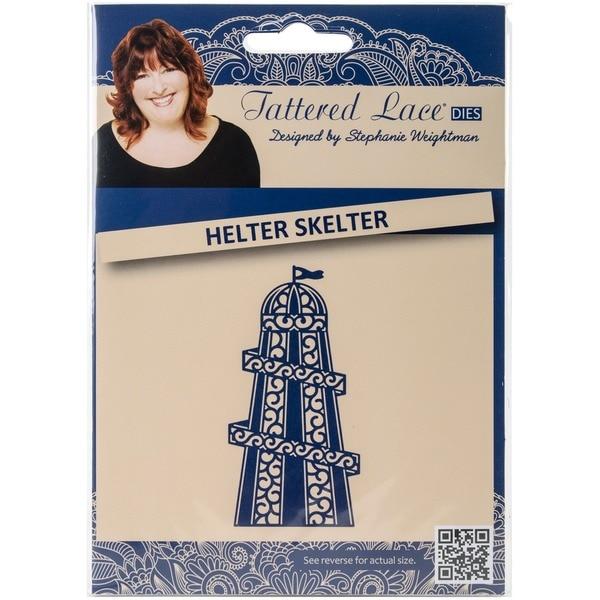 Tattered Lace Metal Die-Helter Skelter