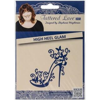 Tattered Lace Metal Die-High Heel Glam