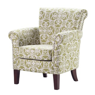 Madison Park Miri Tight Back Club Chair--Green