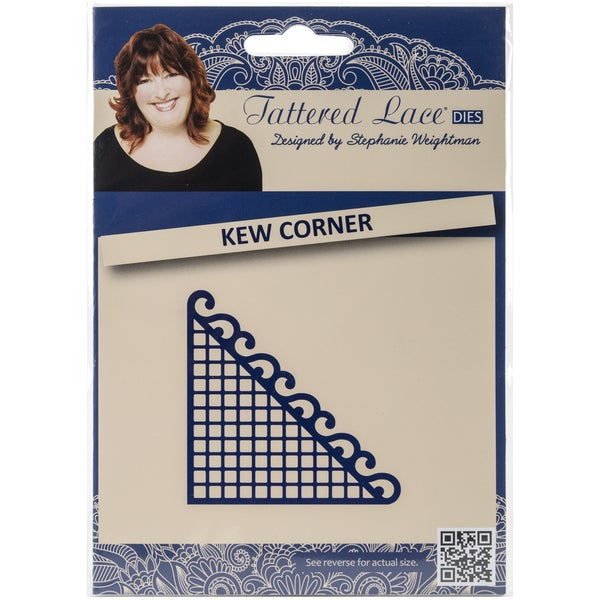 Tattered Lace Metal Die-Kew Corner