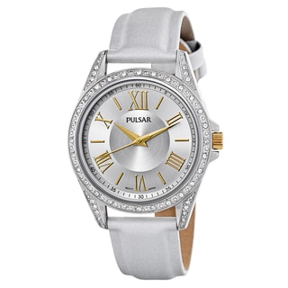 Pulsar Night Out PG2007 Women's Stainless Steel and Swarovski Crystals Watch