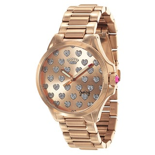 Juicy Couture Jetsetter 1901253 Women's Stainless Steel Rose Gold Ion Plated Watch