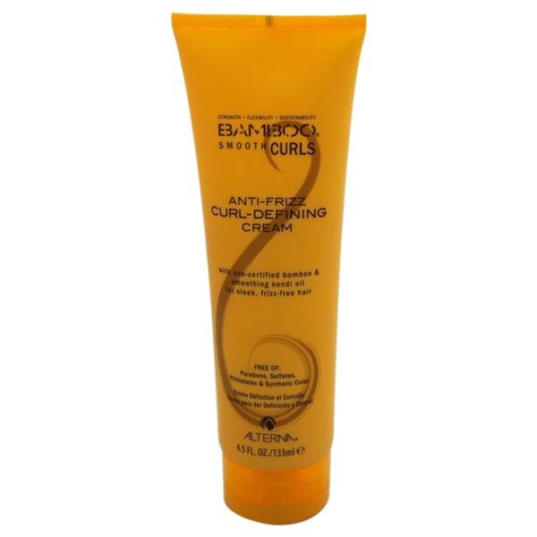 Alterna Bamboo Anti-Frizz 4.5-ounce Curl-Defining Cream