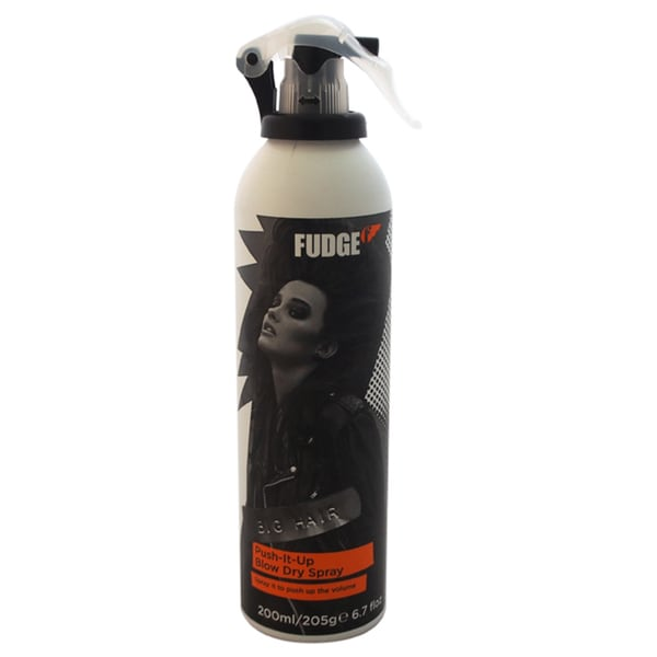 Fudge Push It Up 6.7-ounce Blow Dry Spray