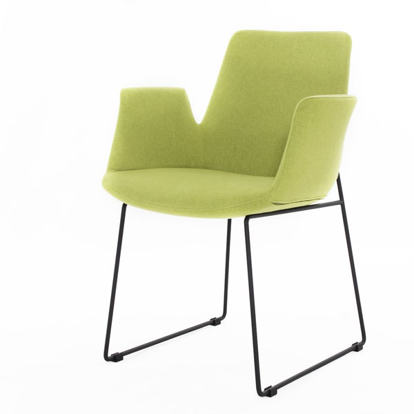 Richmond Lime Green Arm Chair