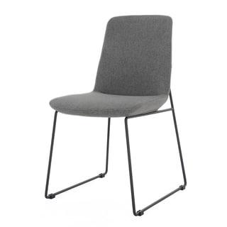 Richmond Warm Grey Two Piece Side Chair Set
