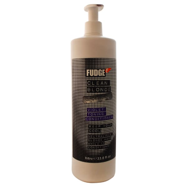 Fudge Clean Blonde Violet Toning 33.8-ounce Conditioner