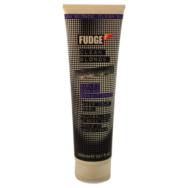 Fudge Clean Blonde Violet Toning 10.1-ounce Conditioner