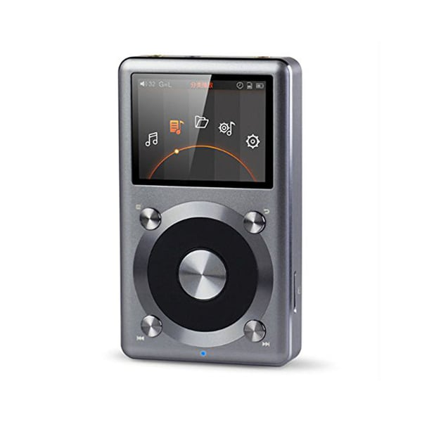 FiiO X3 (2nd Generation) High Resolution Music Player (Titanium)