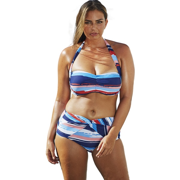 Swim Sexy Faded Glory Bandeau/Halter Bikini