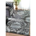 nuLOOM Vintage Adileh Reflection Grey Rug (8' x 10')
