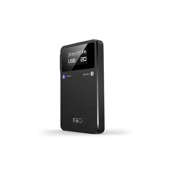Fiio E17K Alpen 2 USB DAC Headphone Amplifier (Black)