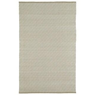 Handmade Camel Wool & Jute Diamonds Frisco Rug (8'0 x 10'0)