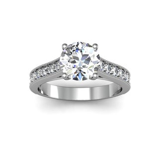 2.00ct Diamond Ring 14K White Gold (H-I, I1-I2)