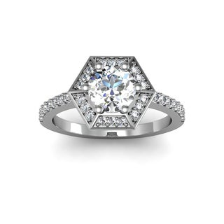 1.50 ct Diamond Ring In White Gold (H-I, I1-I2)