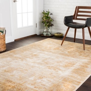 Contessa Antique Ivory/ Gold Rug (6'7 x 9'2)