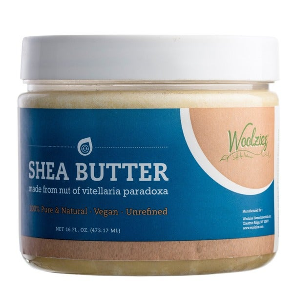 Woolzies 100-percent Pure Raw Unrefined Natural Unadulterated High Quality Shea Butter Moisturizer