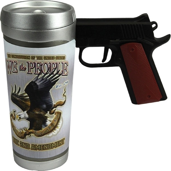 Rivers Edge 'We The People' Pistol Mug 16-ounce
