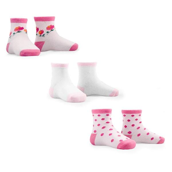 Naartjie Kid's Cotton Socks 2015 New Style Multi-colored Multi-pack Cotton Socks