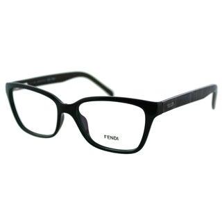 Fendi Unisex FE 1024 315 Green Plastic Rectangle Eyeglasses