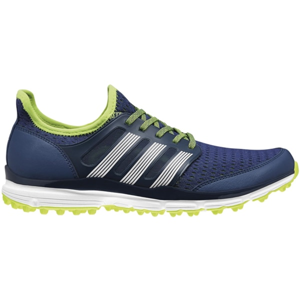 Adidas Mens Climacool Night Marine/Solar Yellow Golf Shoes