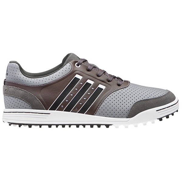 Adidas Men's Adicross III Mid Grey/ Running White/ Dark Cinder Golf Shoes
