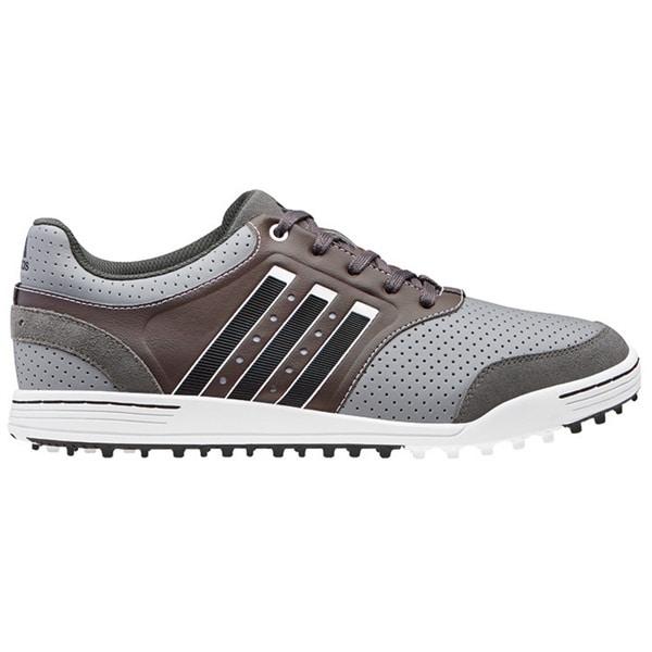 Adidas Men's Adicross III Mid Grey/ Running White/ Dark Cinder Golf Shoes