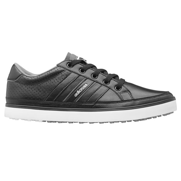 adidas adi Cross IV Golf Shoe - Mens - Black/Black/White