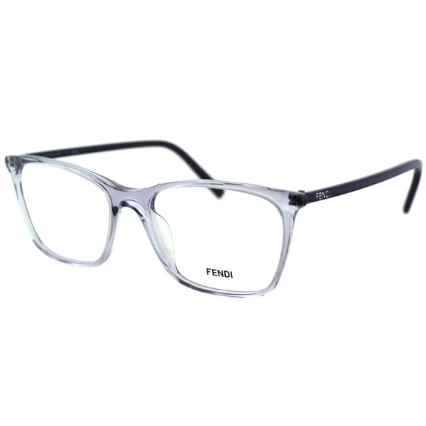 Ladies Plastic Eyeglass Frames : Fendi Womens FE 946 516 Clear Translucent Plastic ...