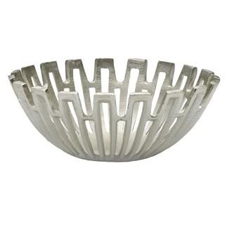 Mikasa 11-1/2 Inch Silver Sun Ray Decoratve Bowl