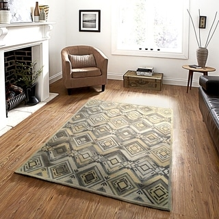 Integrity 'Wounded Warrior Donator' Flax Hand-crafted LR12014 Rug (8'9 x 11'9)