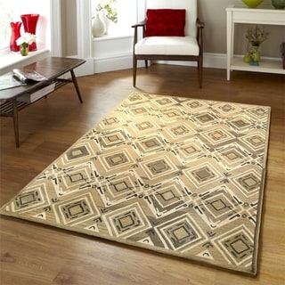 Integrity 'Wounded Warrior Donator' Chocolate Hand-crafted LR12014 Rug (8'9 x 11'9)