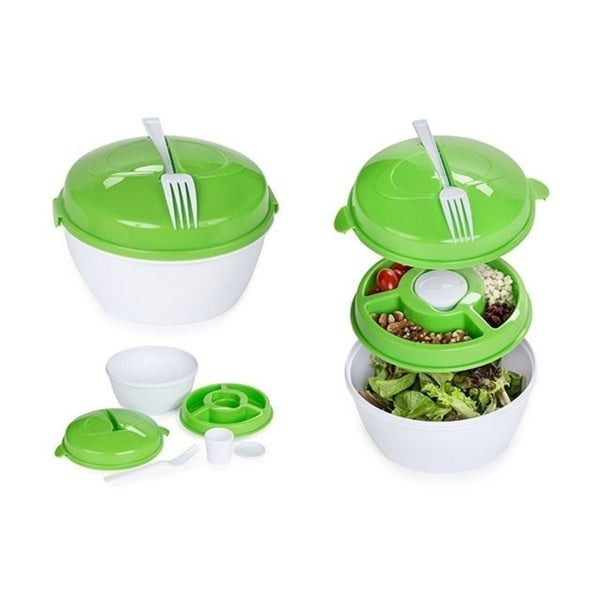 Five-Piece Salad Container