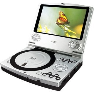 Coby TF-DVD7100 Portable DVD Player Refurbished