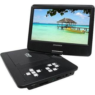 Sylvania 10-inch Black USB Swivel DVD Player with Remote (Refurbished)