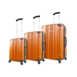 Mia Viaggi Genoa 3-piece Expandable Hardside Spinner Luggage Set