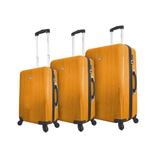 Mia Viaggi Murano 3-piece Expandable Hardside Spinner Luggage Set