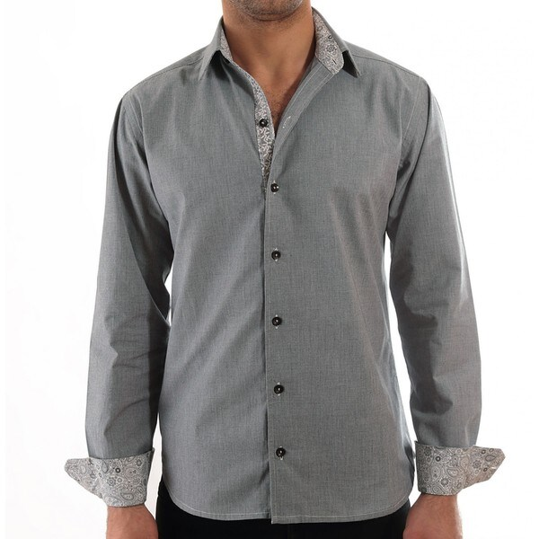 Luciano Men's Cotton Casual Shirt