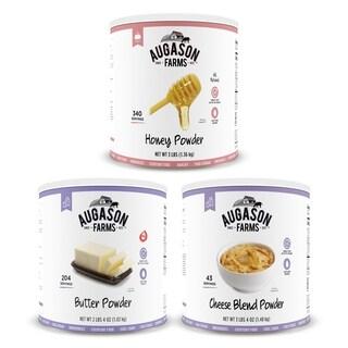 Augason Farms Essential Powder Pack #10 Can (3 Pack)