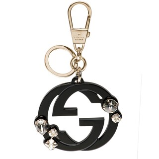 Gucci Plexiglass Interlocking G Key Ring