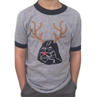 Boys' Darth Vader Rudolph Christmas T-Shirt