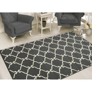 Sweet Home Stores Clifton Collection Moroccan Trellis Design Area Rug (5' x 7')